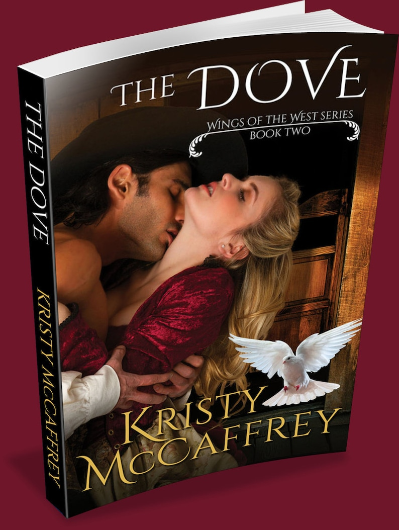 Signed Paperback of THE DOVE by Kristy McCaffrey image 1