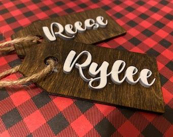 Custom Gift & Stocking Tags