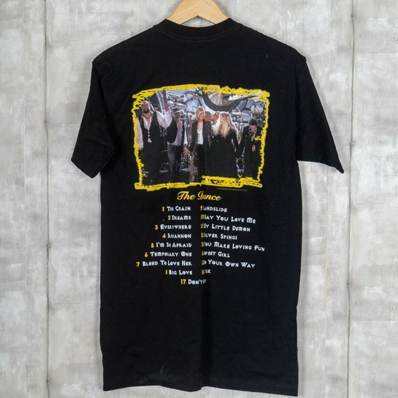 1997 Giant Fleetwood Mac Vintage T-shirt Size Larg