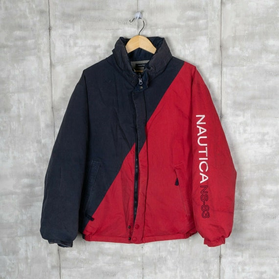 Nautica NS-83 Reversible Down Insulated Vintage Ja