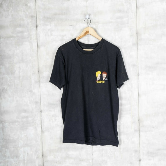 Vintage MTV Beavis and Butthead EMBROIDERED T-Shir