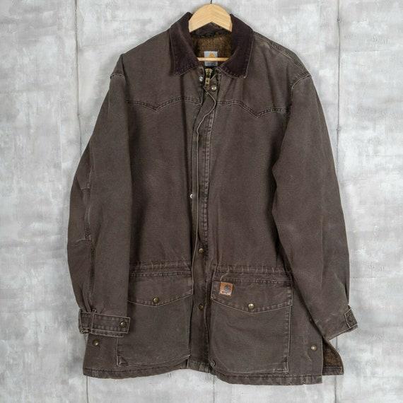 Carhartt Vintage Barn Coat Size 2XL Brown Workwear