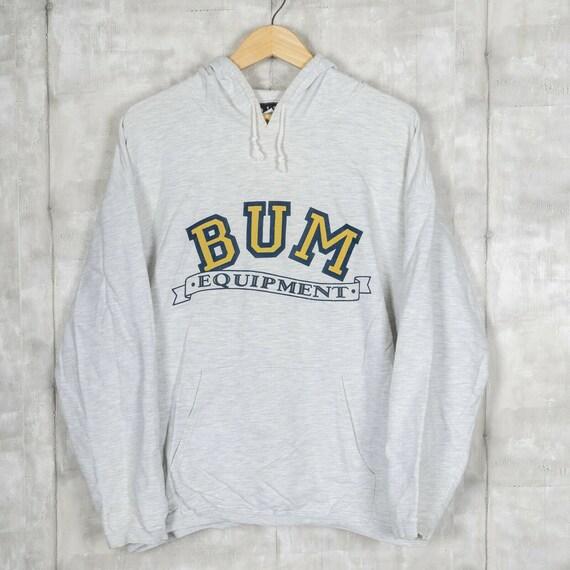 BUM Equipment Vintage Hoodie Sweatshirt Size Mediu