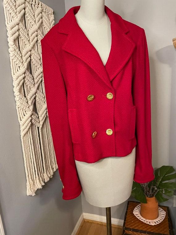 Vintage Red St John Jacket