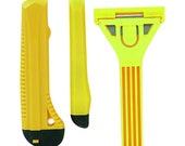 Scraper And utility craft Knife Set, 3 Pc