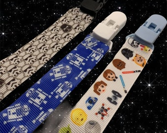SALE Tribute Carrie Star Wars Jabba/'s Dancers Inspired Baby Diaper Changing Bag plus Dummy Pacifier Clip