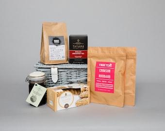 Luxury Tea, Coffee and Biscuits Hamper