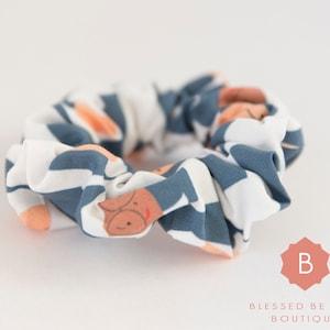 DETROIT LIONS Hair Scrunchie Handmade Cotton!