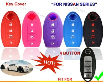 Uxinuo Compatible with Nissan Key Fob Cover Case for Nissan Altima ...