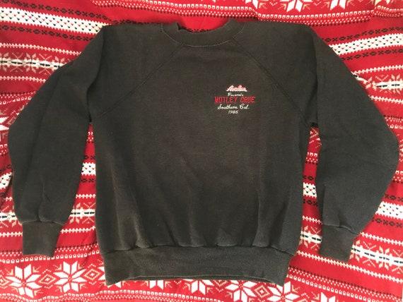 1985 Motley Crue sweatshirt vintage