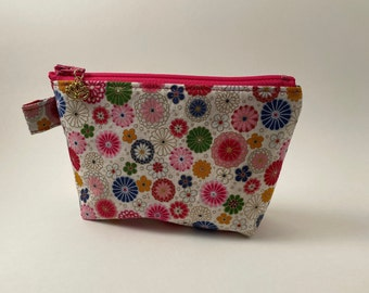 Zipper pouch, pencil pouch, small pouch, gift for her