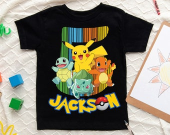 Pikachu Birthday T Shirt Pokemon IDEAL BIRTHDAY GIFT