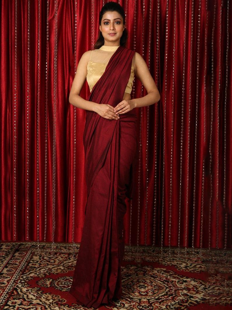 New BANARASI KOTA SILK Saree with Blouse Piece Bridal Gift Occasional Puja Special Bengali Wear Party Wedding Sari Wear