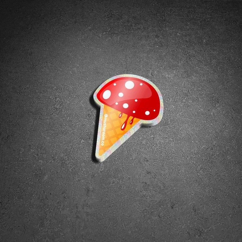 Shroom Cone Sticker