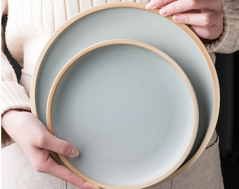 Matte Ceramic Plates, Hand-Finished Ceramics, Handmade Plate, Dinner Plate Handmade Ceramic, Serving Plate, Handmade Pottery