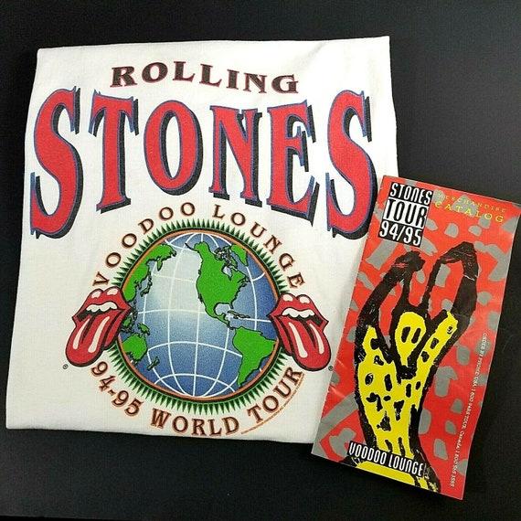 Vintage Rolling Stones Voodoo Lounge 1994 -1995 Wo