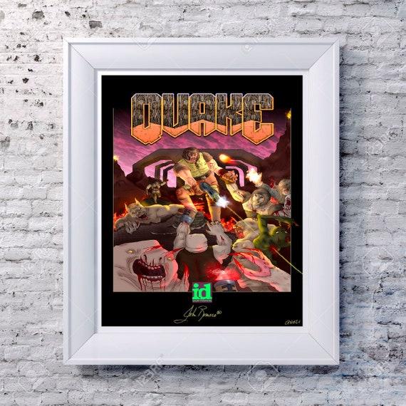 Uncharted 10th Anniversary Nathan Drake Adventure Jungle Art Deco Design Artwork Graphic Minimal Minimalist Game Gaming Poster Print Decor