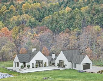 Modern Farm & Country House Plan