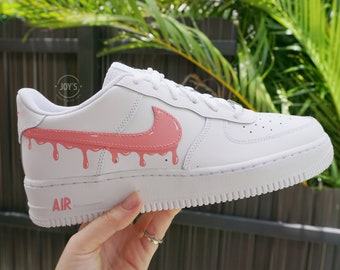 Pink Nike Air Force 1 | Etsy