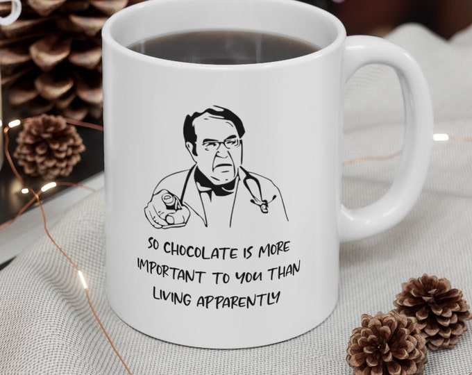 DR NOWZARADAN  - Funny Quote - Ceramic Mug 11oz