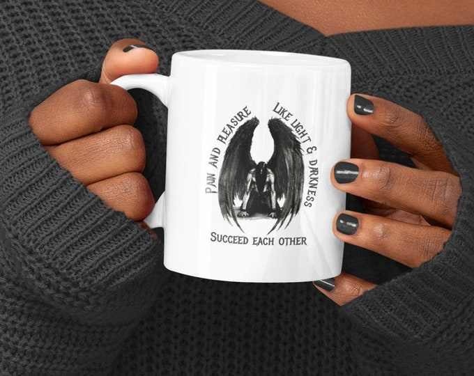 GOTH - Dark Angel - Ceramic Mug 11oz