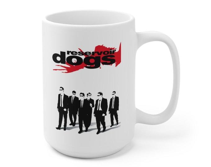 RESERVOIR DOGS - Tarantino - Movie Poster - Ceramic Mug 15oz