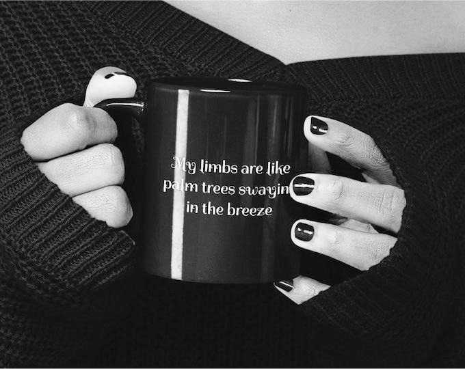 Siouxsie MIRAGE Black mug 11oz - GOTH lyrics