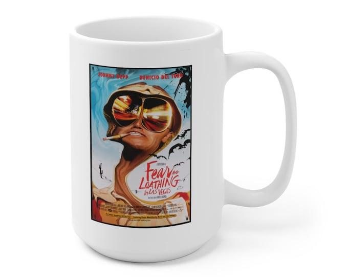 JOHNNY DEPP - Fear and Loathing In Las Vegas - Movie Poster - Ceramic Mug 15oz