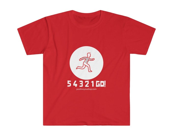 54321 GO! Red Runner Unisex Softstyle T-Shirt