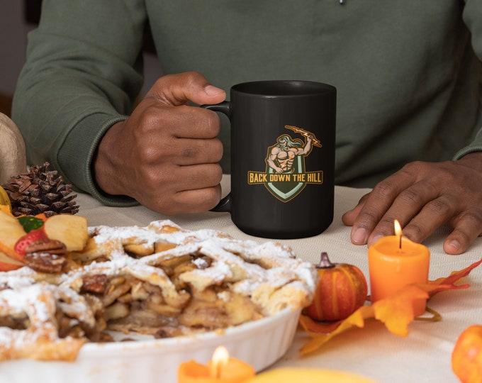 Official BACK DOWN THE Hill - Black Mug 15oz