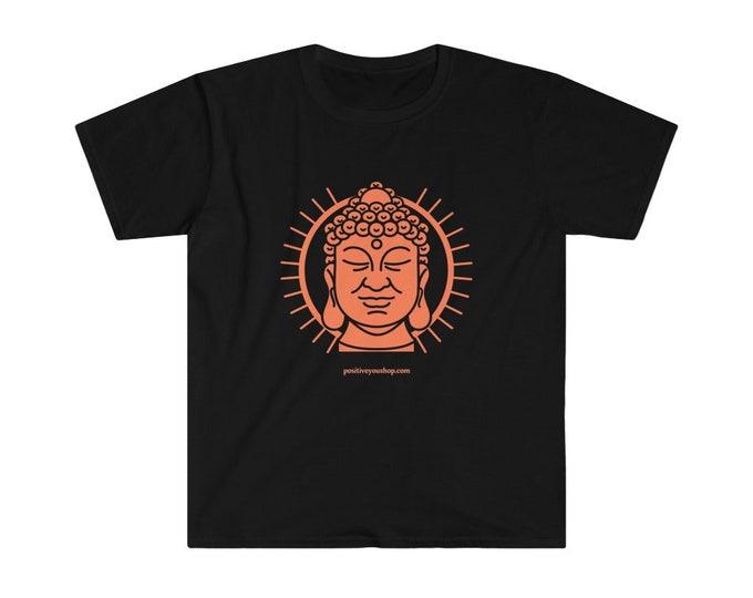 Buddha Quote Back-Print Unisex Softstyle T-Shirt