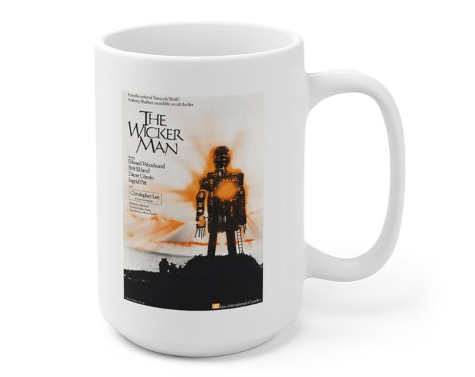 The WICKER MAN - Movie Poster - Ceramic Mug 15oz