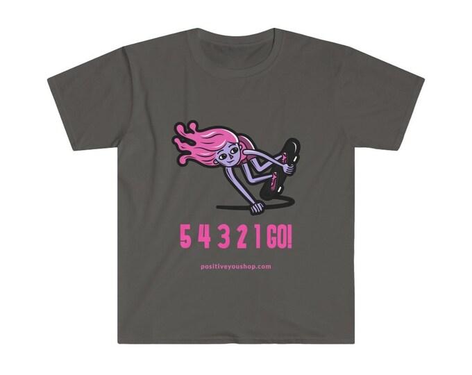 54321GO! Skater Girl Unisex Softstyle T-Shirt