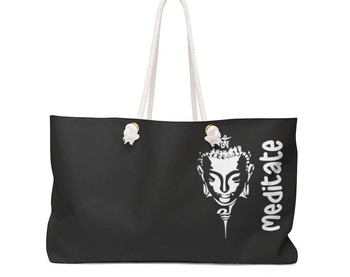 Buddha MEDITATE Weekender Bag