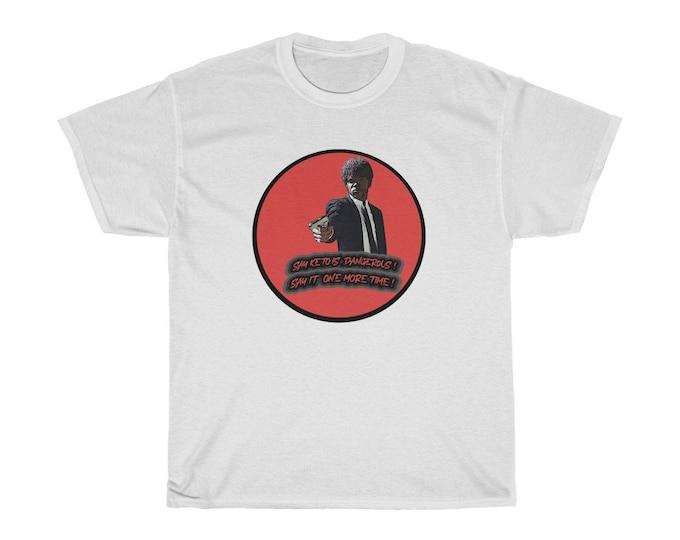 KETO DIET Samuel L Jackson Pulp Fiction - Unisex Heavy Cotton Tee - S to 5xl - 10 Colors