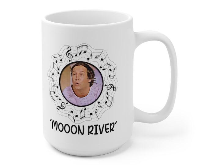 FLETCH - Moon River - Chevy Chase - Ceramic Mug 15oz
