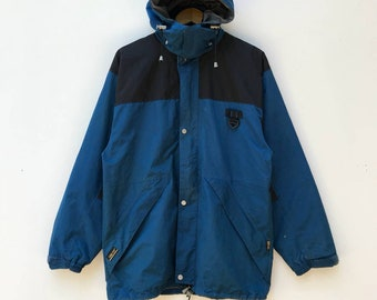 M 80s MSR Mountain Safety Research Gore-Tex Jacket in Gray and Blue
