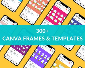 Custom Canva Frames and Shapes