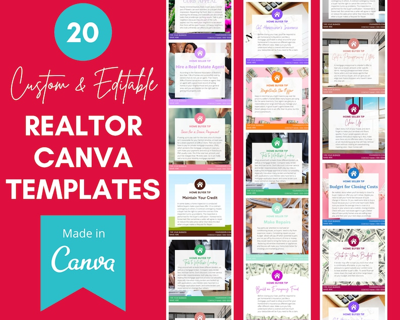 20 Canva Templates for Real Estate  Realtor Templates for image 1
