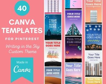 40 Canva Templates for Pinterest   Pinterest Templates   Pinterest Templates for Your Business   Pinterest Templates for Canva   Pinterest