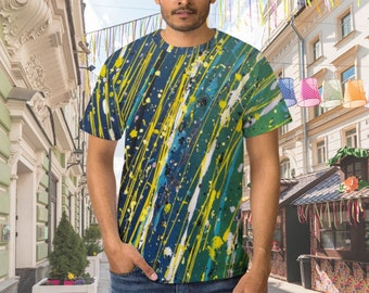 Abstract art tshirt, Modern art t-shirt, Pollock art shirt,Contemporary art tee