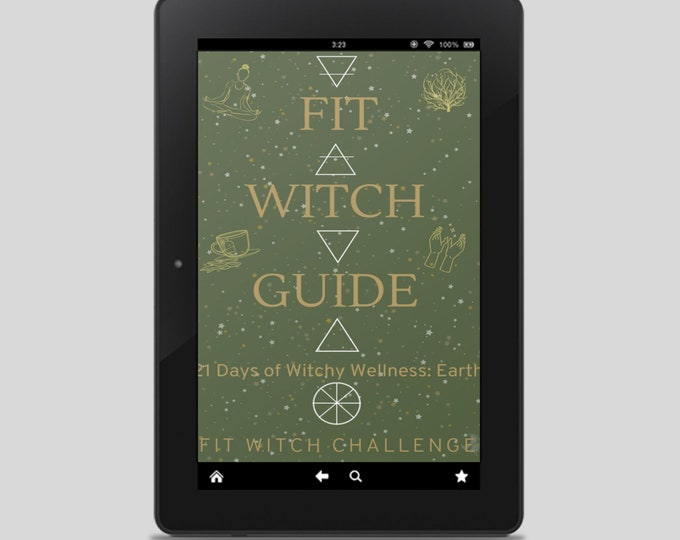Fit Witch Guide: EARTH, Grounding and Nature Ritual eBook guide - Witchy Books - Self Care - Witch Tips - Witchcraft - Spells - Pagan
