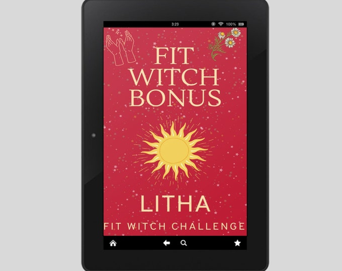 Fit Witch Guide: LITHA, Ritual, Sabbats, Witchcraft, Witchy Books, Solstice, Witchy, Book of Shadows, Spells, Pagan, Grimoire, Printables