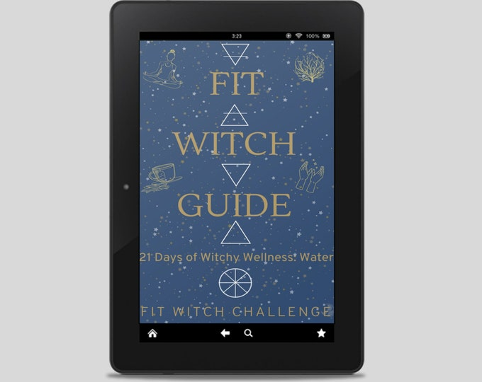 Fit Witch Guide: WATER, Self Care and Self Care Ritual - Witchy Books - Self Care - Witch Tips - Witchcraft - Spells - Pagan