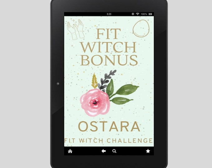 Fit Witch Guide: OSTARA, Ritual, Sabbats, Witchcraft, Witchy Books, Self Care, Witchy, Book of Shadows, Spells, Pagan, Grimoire, Printables