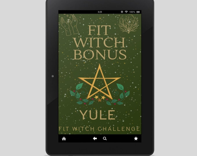 Fit Witch Guide: YULE, Ritual, Sabbats, Witchcraft, Witchy Books, Self Care, Witchy, Book of Shadows, Spells, Pagan, Grimoire, Printables