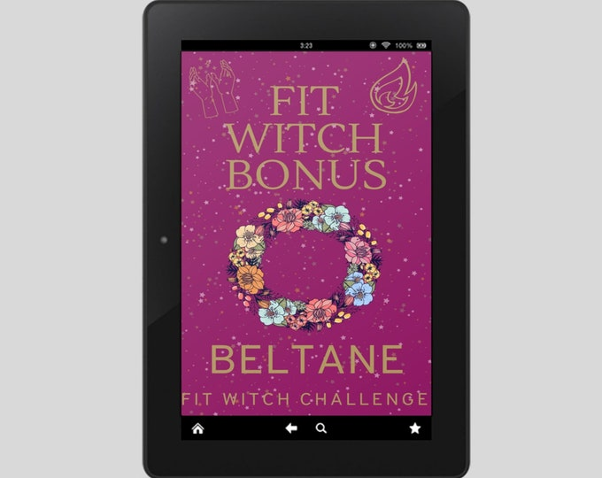 Fit Witch Guide: BELTANE, Ritual, Sabbats, Witchcraft, Witchy Books, Self Care, Witchy, Book of Shadows, Spells, Pagan, Grimoire, Printables