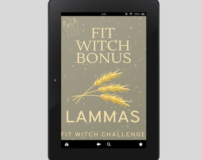 Fit Witch Guide: LAMMAS, Ritual, Sabbats, Witchcraft, Witchy Books, Solstice, Witchy, Book of Shadows, Spells, Pagan, Grimoire, Printables