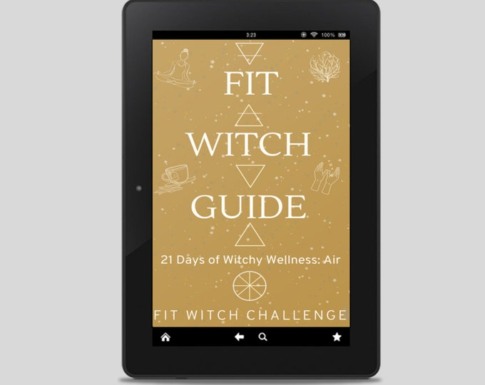 Fit Witch Guide: AIR, Kitchen Witchery and Meal Planning - Witchy Books - Self Care - Witch Tips - Witchcraft - Spells - Pagan