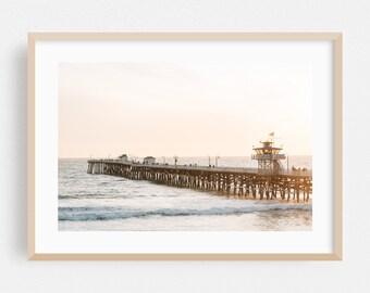 California Theme Gift San Clemente Dish Towel